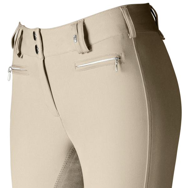 Tredstep Solo Full Seat Competition Breech Front Pocket Inset