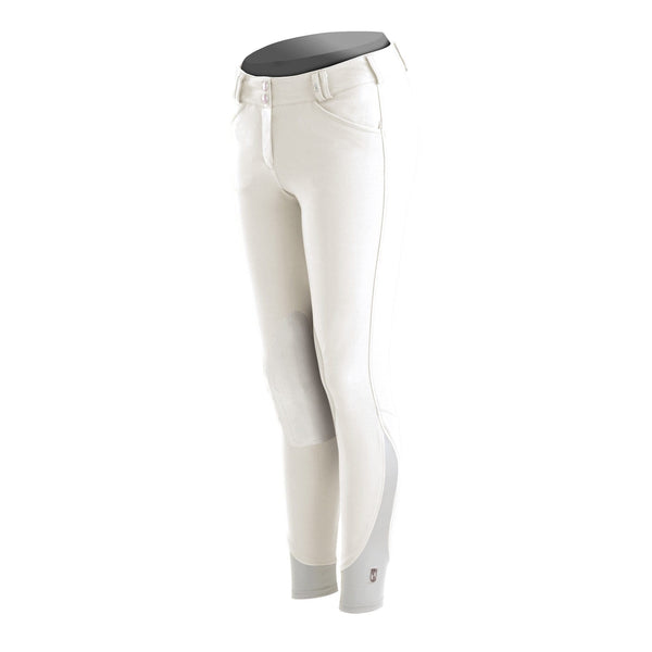 Tredstep Symphony Nero Ladies Knee Patch Breech - 24 / White | EQUUS