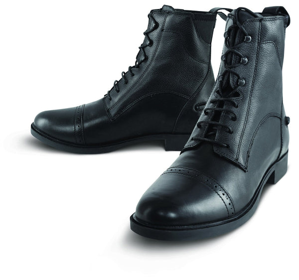 Tredstep Giotto Lace Up Paddock Boot in Black
