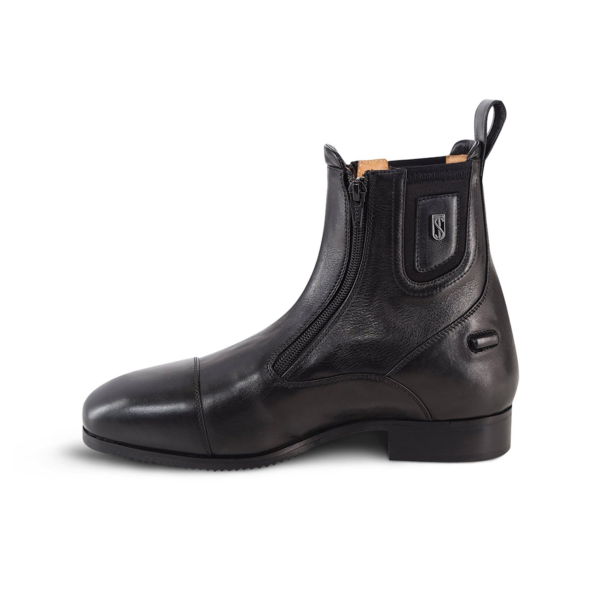 Tredstep Medici II Paddock Boot with Double Zip in Black
