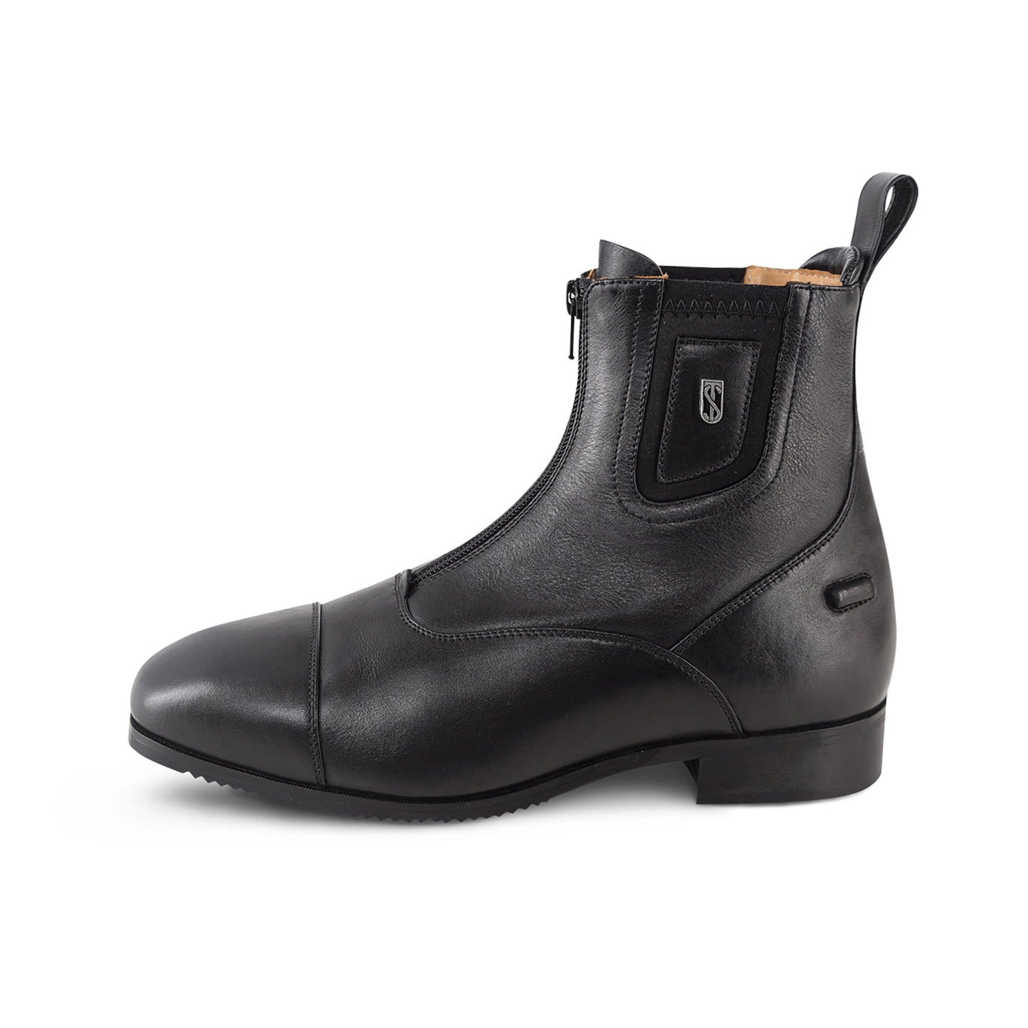 Tredstep Medici II Paddock Boot with Front Zip Black
