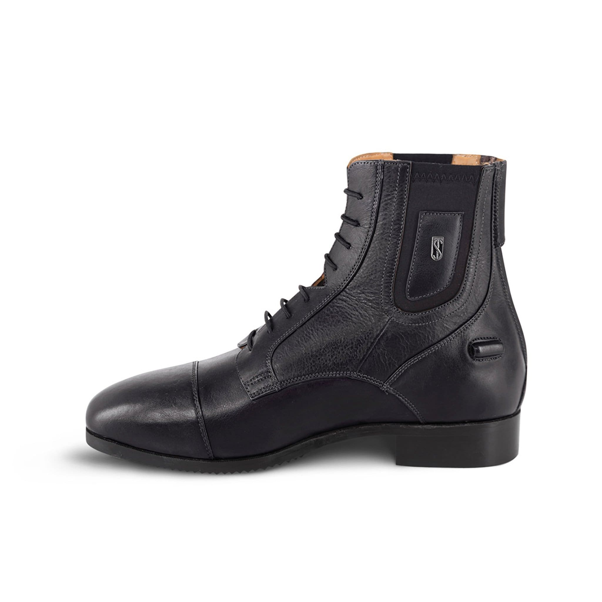 Tredstep Medici II Paddock Boot with Lace and Rear Zip in Black