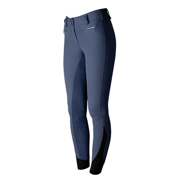 Tredstep Solo Full Seat Competition Breech in French Blue