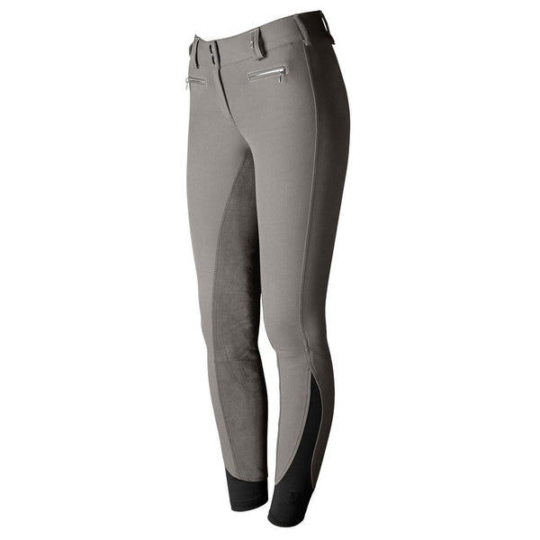 Tredstep Solo Full Seat Competition Breech in Grey