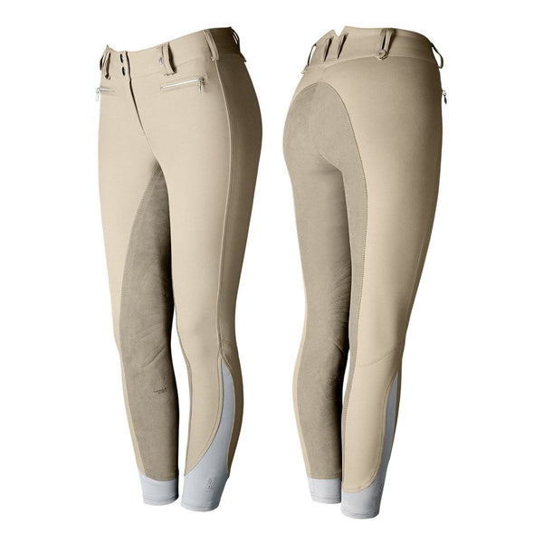 Tredstep Solo Full Seat Competition Breech in Tan