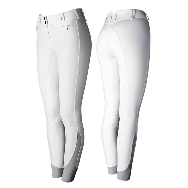 Tredstep Solo Full Seat Competition Breech in White