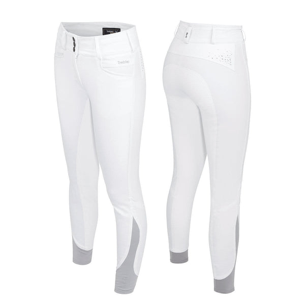 Tredstep Solo Volte Full Seat Breeches in White