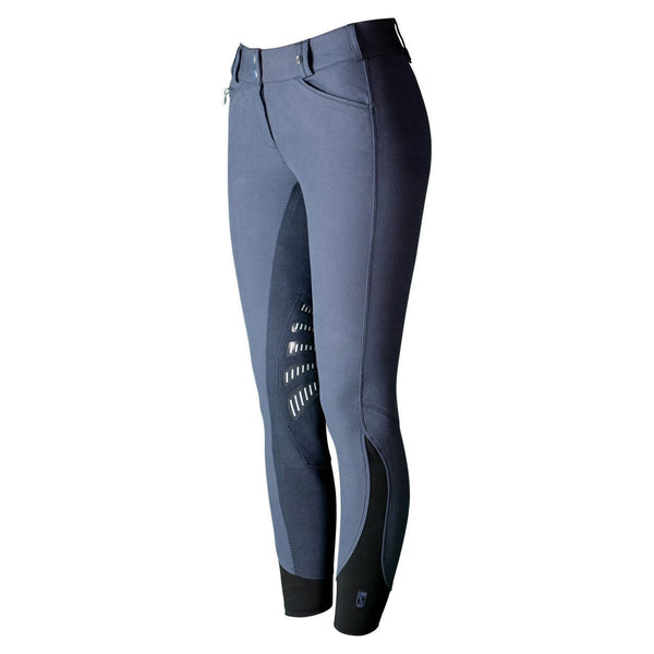 Tredstep Symphony Azzura Pro Ladies Full Seat Breeches - 24 / French Blue | EQUUS