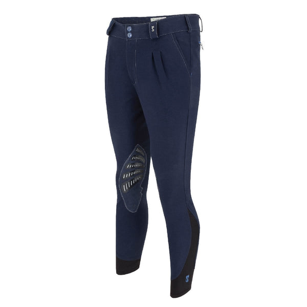 Tredstep Symphony Azzura Pro Gents Knee Patch Breech in Navy