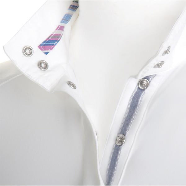 Tredstep Symphony Futura Long Sleeved Competition Shirt White Inner  Collar