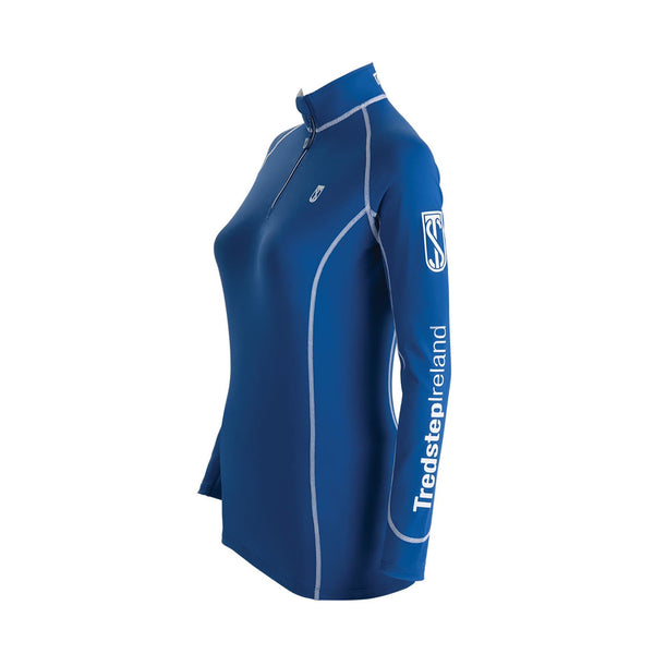 Tredstep Symphony Futura Long Sleeved Sport Top Classic Blue