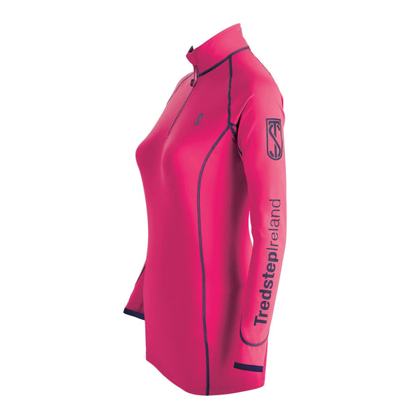 Tredstep Symphony Futura Long Sleeved Sport Top Hot Pink