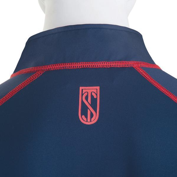 Tredstep Symphony Futura Long Sleeved Sport Top Navy Close Up Rear View