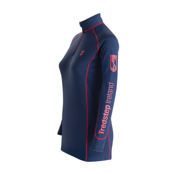 Tredstep Symphony Futura Long Sleeved Sport Top Navy