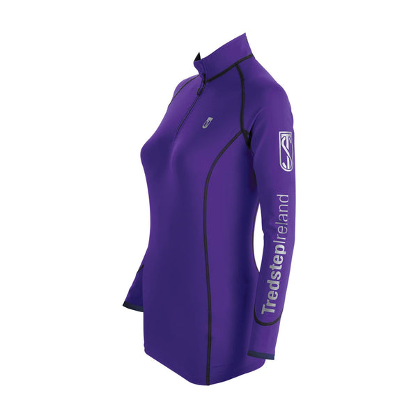 Tredstep Symphony Futura Long Sleeved Sport Top Violet
