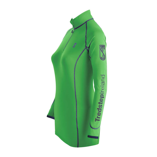 Tredstep Symphony Futura Long Sleeved Sport Top Sport Green