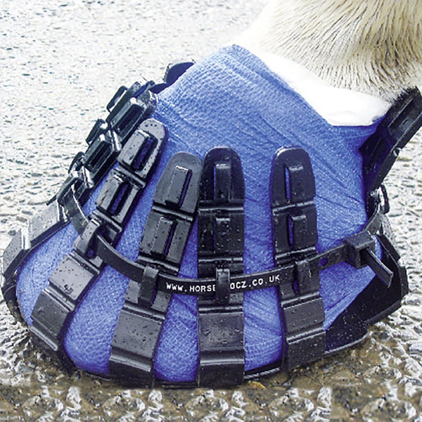 Vet Strider Poultice Boot Lifestyle Blue Bandage 631007