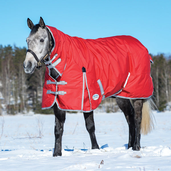 Weatherbeeta ComFiTec Classic Heavyweight Combo Turnout Rug Standing in the Snow 801484