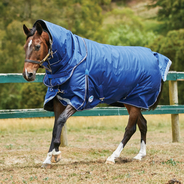 Weatherbeeta ComFiTec Ultra Tough Detach-A-Neck Heavyweight Turnout Rug Cantering Horse 801002