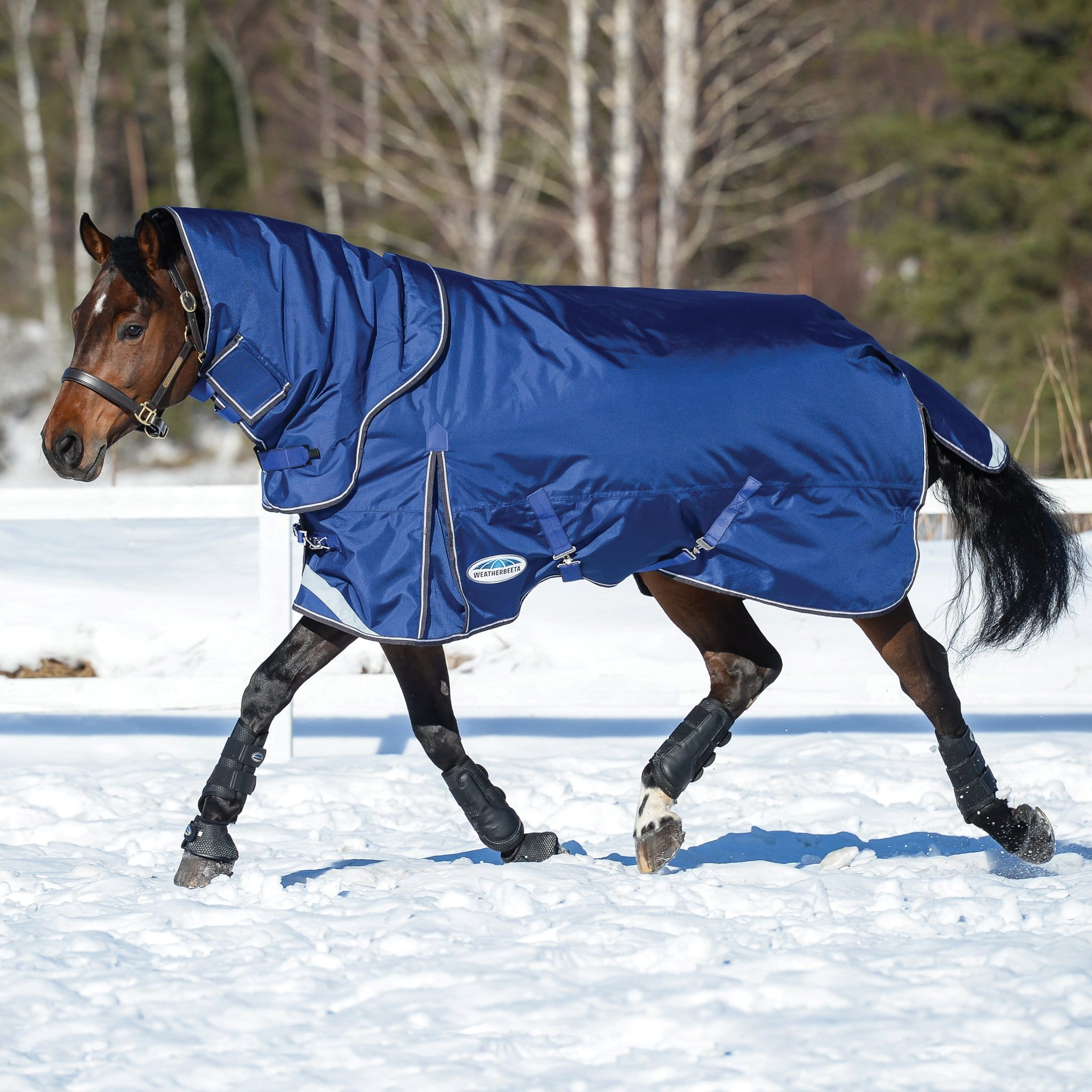 Weatherbeeta ComFiTec Ultra Tough Heavyweight 360g Detachable Neck Turnout Rug 801002