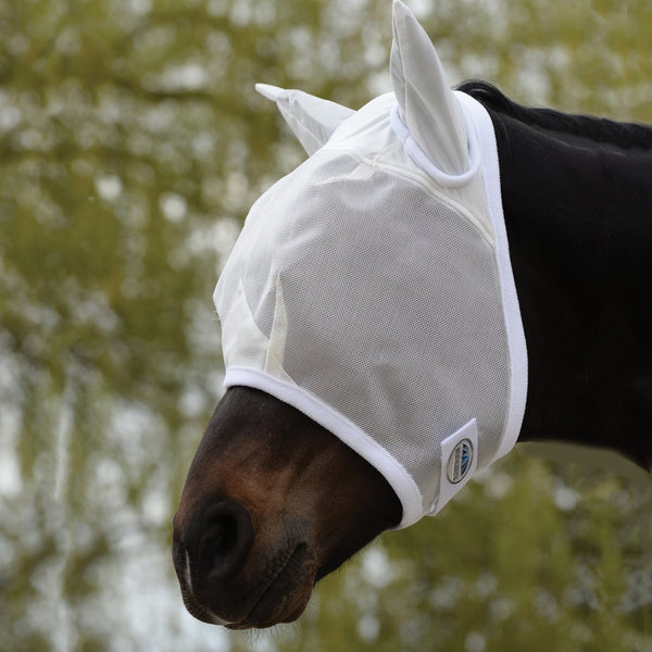 Weatherbeeta Fly Mask in White 592270