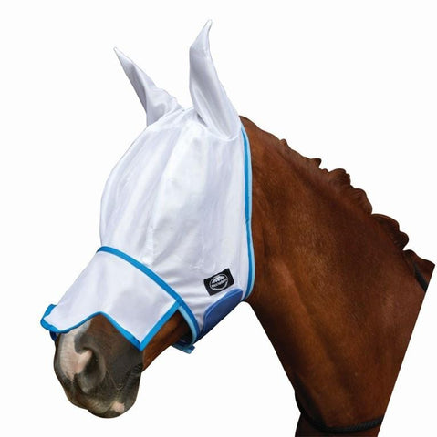 Weatherbeeta Fly Mask with Ears and Nose and Insect Shield - EQUUS