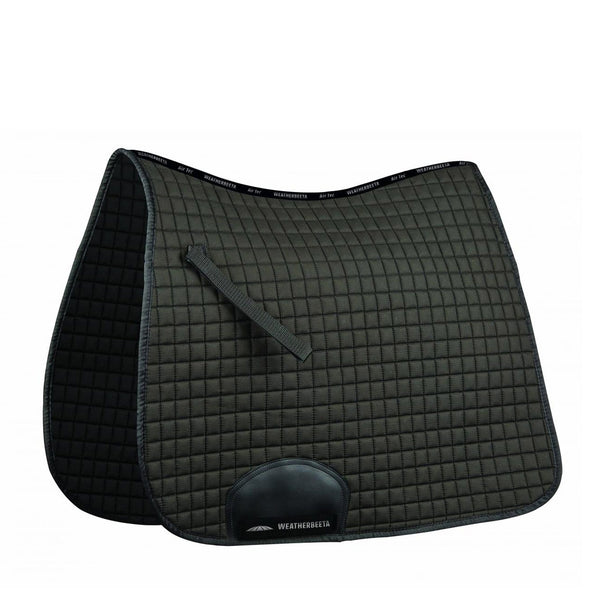 Weatherbeeta Supreme Dressage Saddle Pad Black 592638