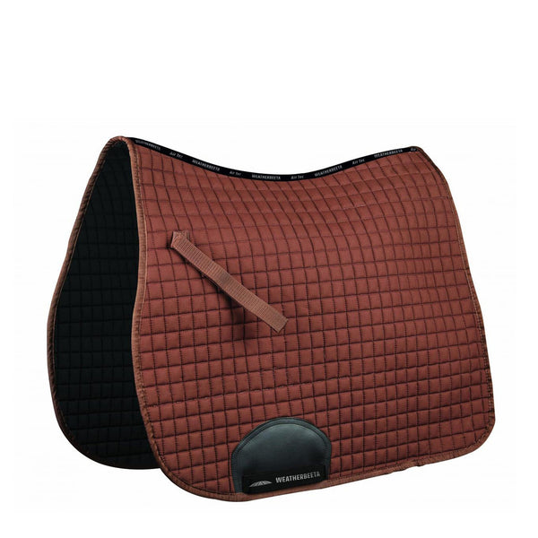 Weatherbeeta Supreme Dressage Saddle Pad Brown 592639