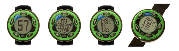 Ultimate Rechargeable Event Watch Green 460111