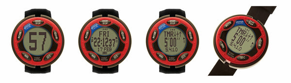 Ultimate Rechargeable Event Watch Red 460110