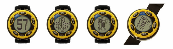 Ultimate Rechargeable Event Watch Yellow 460109