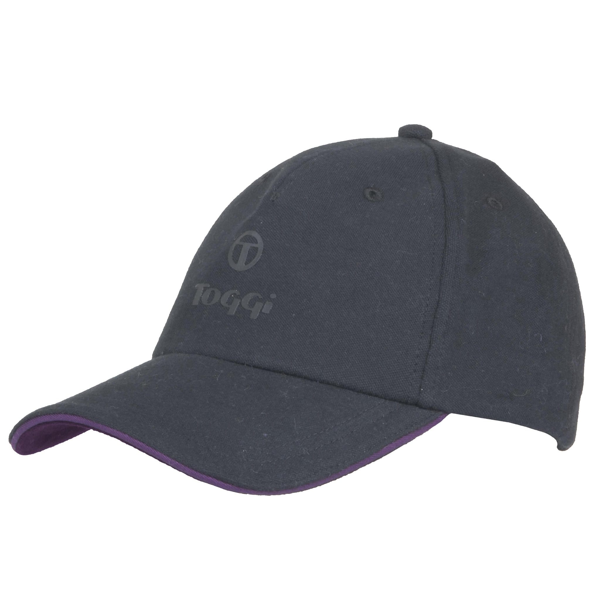 Toggi Wharton Ladies Baseball Cap in Black