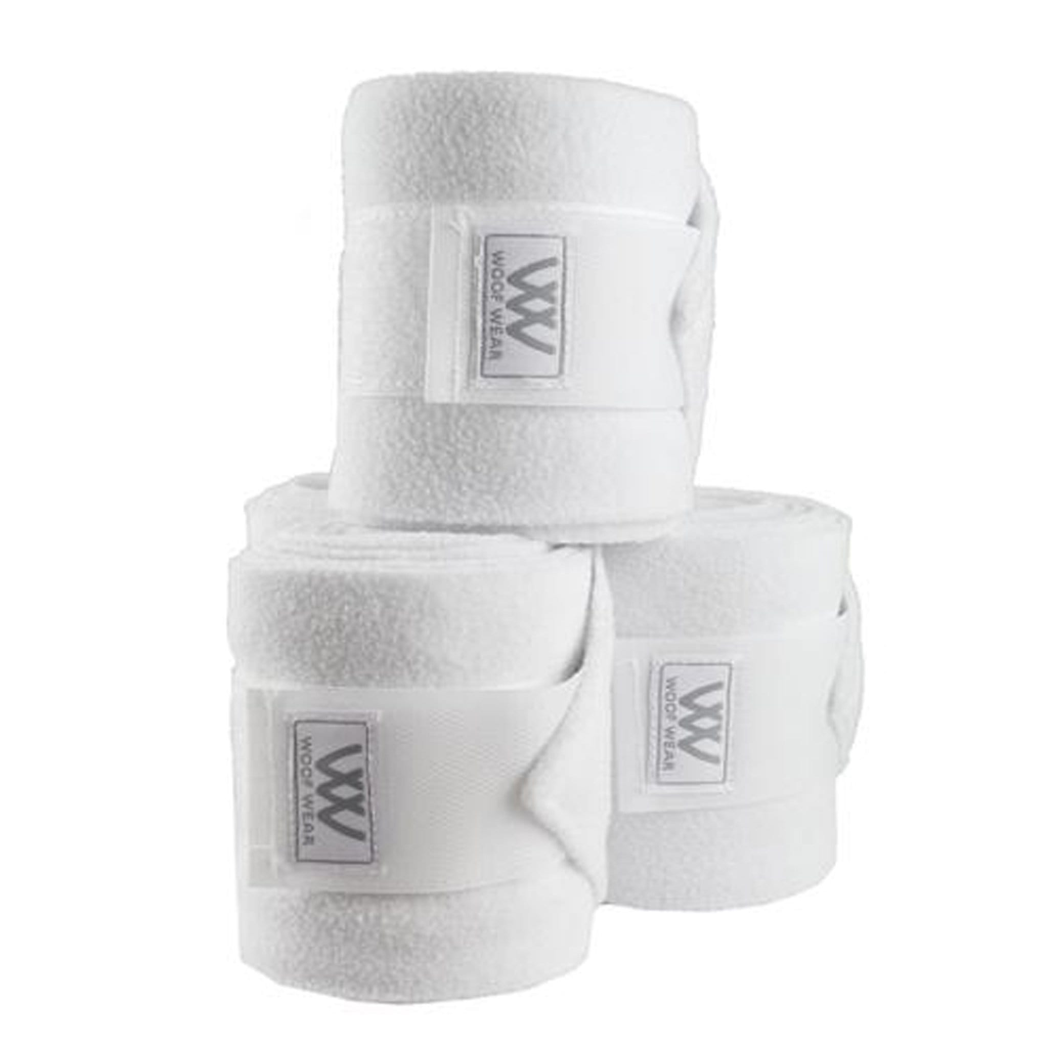 Woof Wear Polo Bandages in White