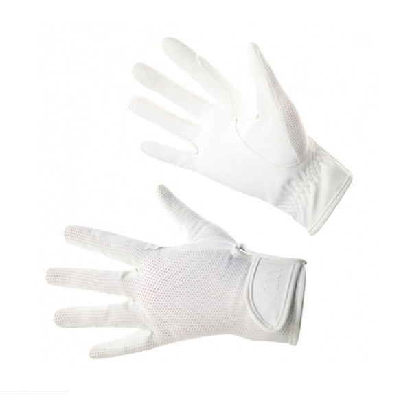 Woof Wear Grand Prix Riding Glove in White