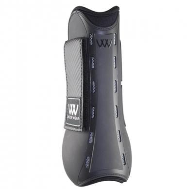 Woof Wear Pro Tendon Boot Black Rear View WB0055