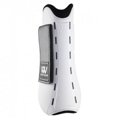 Woof Wear Pro Tendon Boot White Rear View WB0055
