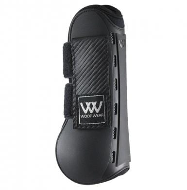 Woof Wear Pro Tendon Boot Black Side View WB0055