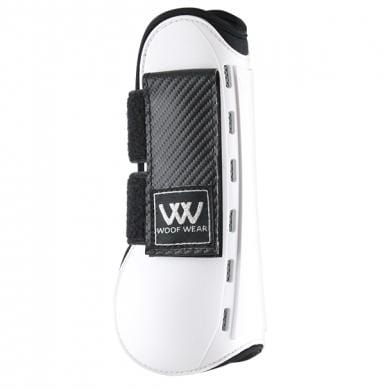 Woof Wear Pro Tendon Boot White Side View WB0055