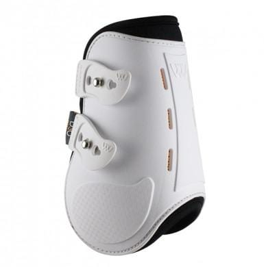 Woof Wear Smart Fetlock Boots in White WW0054