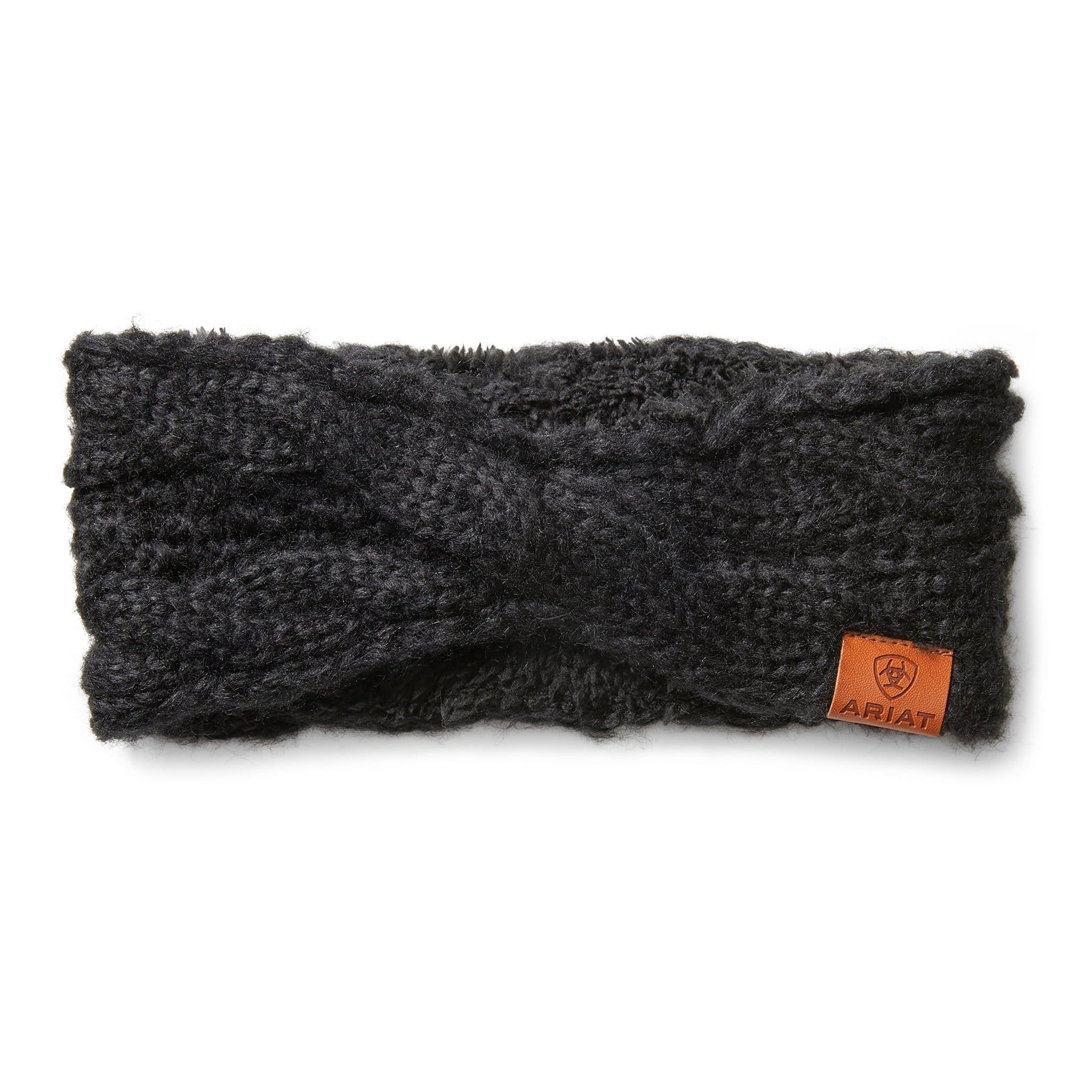 Ariat Unisex Cable Knit Headband 10033370 Black
