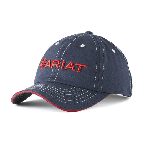 Ariat Team Cap II 10019861 Navy and Red