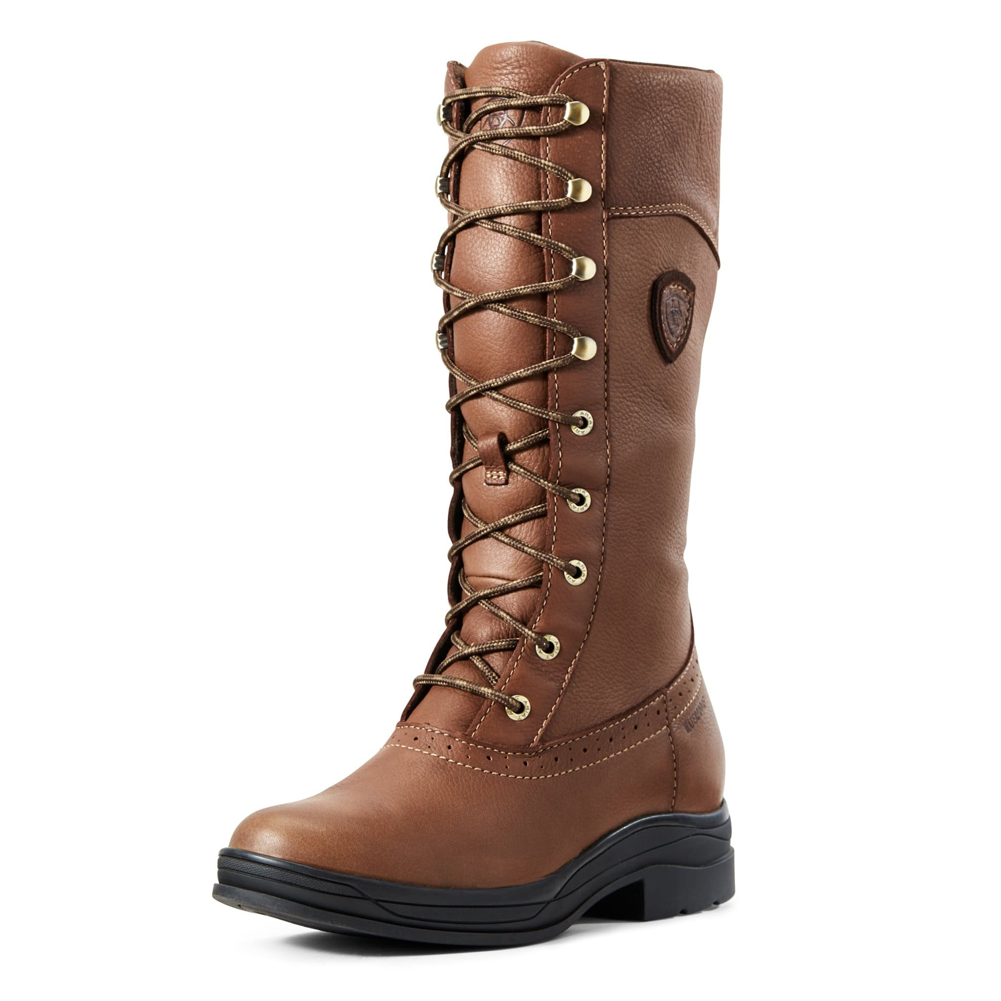 Ariat Wythburn Waterproof Boots 10029561 Brick Brown Front