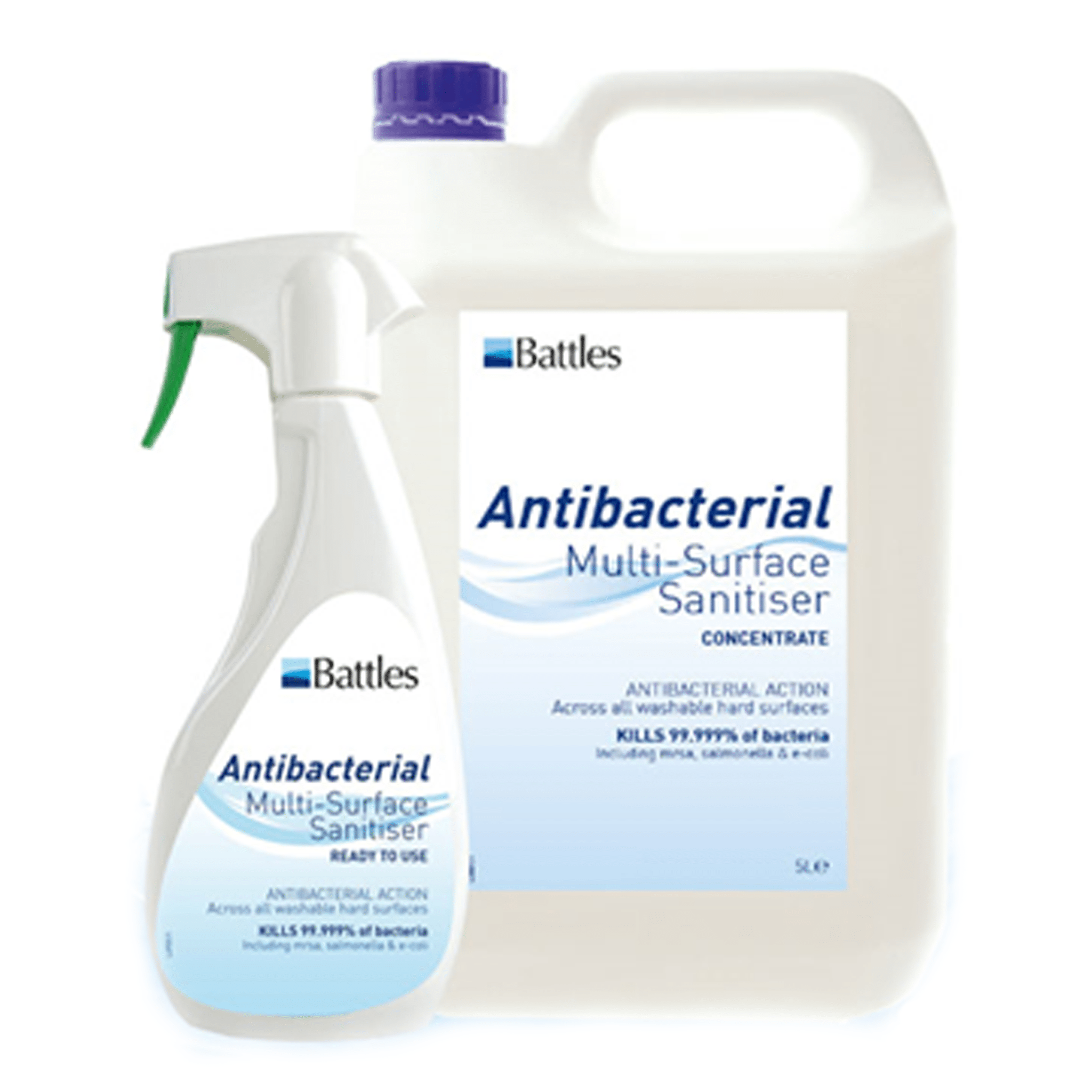 Battles Anti Bacterial Multi Surface Sanitiser 29652