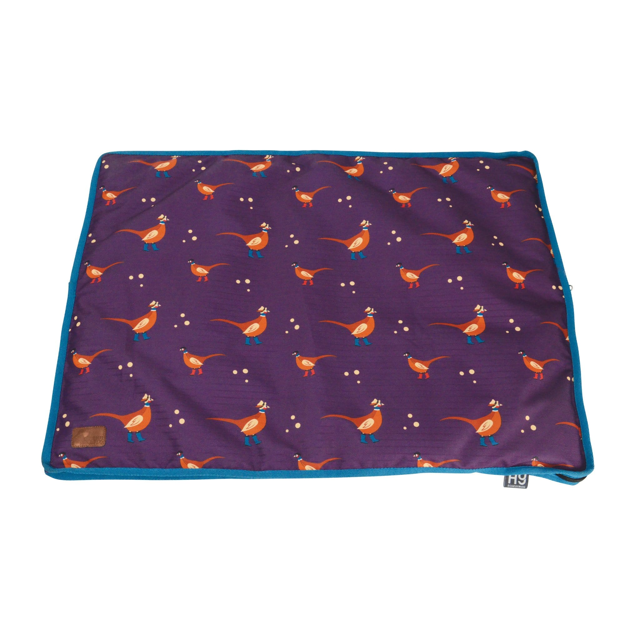 Hy Equestrian Patrick the Pheasant Dog Bed Plum 28447