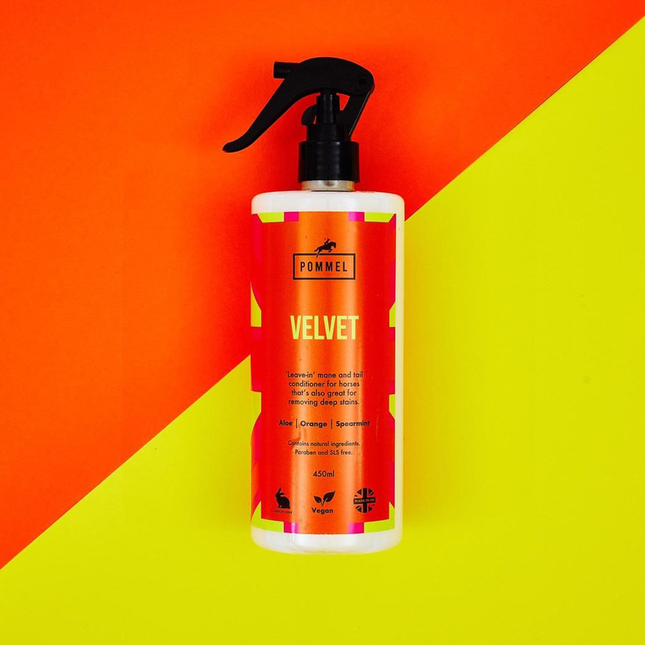 Pommel Velvet Mane and Tail Conditioner 450ml 31394
