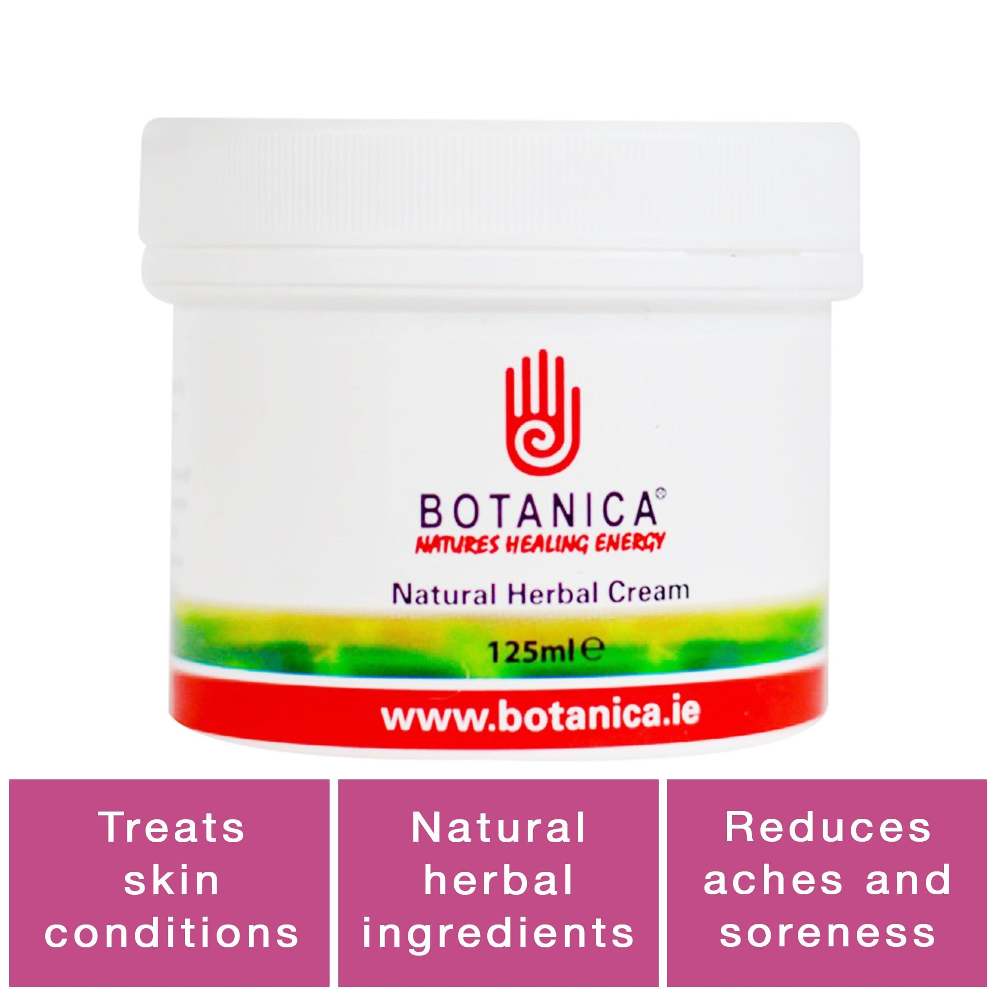Botanica Natural Herbal Cream BOT0050 125ml Hero Image