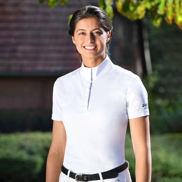 Busse Aarhus Show Shirt 760237 White Lifestyle on Model