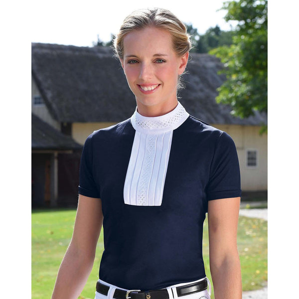Busse Ankum Show Shirt 760233 Navy Lifestyle On Model