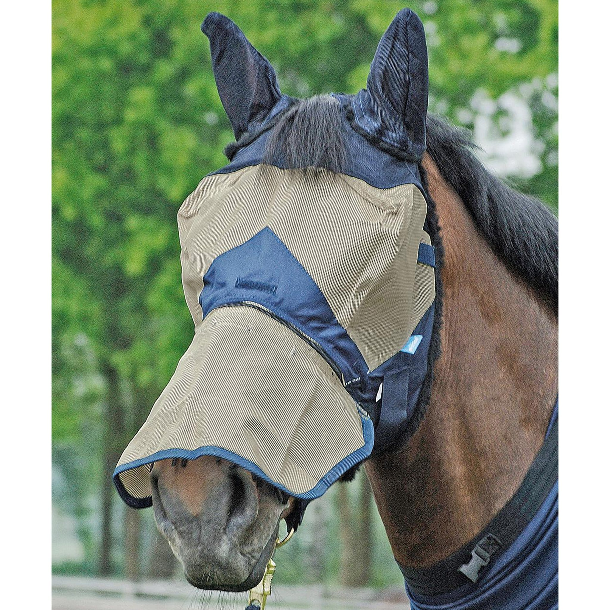 Busse Fly Stop Fly Mask 633012 Full Mask With Nose