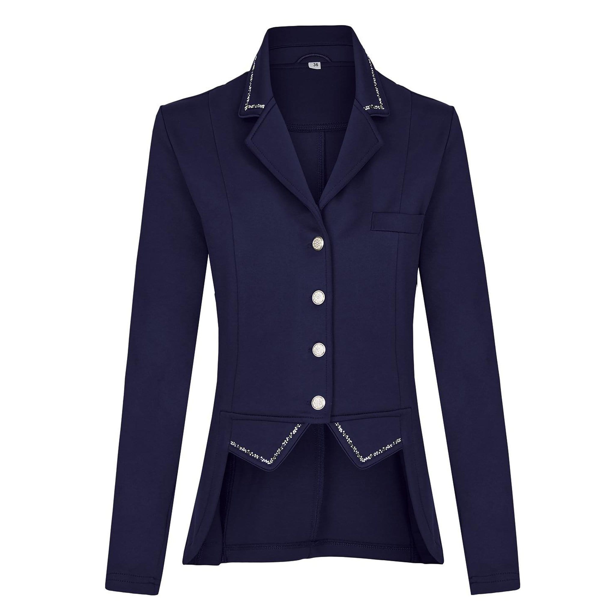 Busse Girl's Munchen Show Jacket 760097 Navy Front